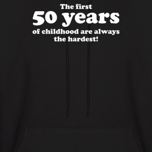50 YEARS OF CHILDHOOD - Men's Hoodie