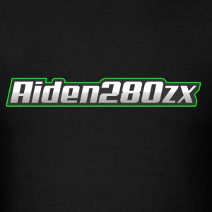 AIden280zx (Banner Logo) - Men's T-Shirt