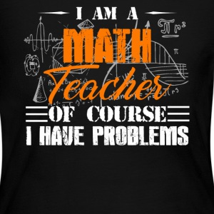Math Teacher Board Shirt - Women's Long Sleeve Jersey T-Shirt