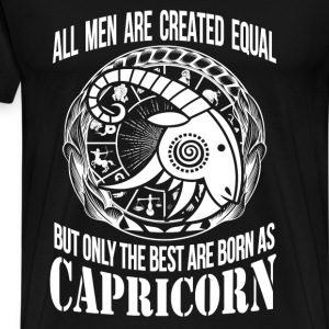 Capricorn - Only the best men are born as capricon - Men's Premium T-Shirt