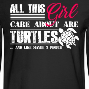 Turtle Shirt - Men's Long Sleeve T-Shirt