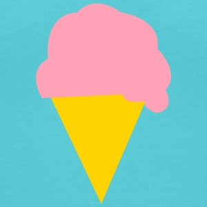 Icecream T-Shirts - Women's V-Neck T-Shirt