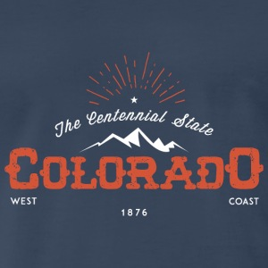 Colorado Vintage Badge - Men's Premium T-Shirt