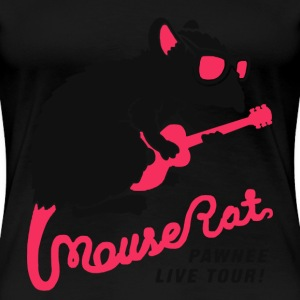 Mouse rat - Mourserat pawnee live tour - Women's Premium T-Shirt
