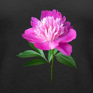 One Pink Peony Tanks - Women's Premium Tank Top