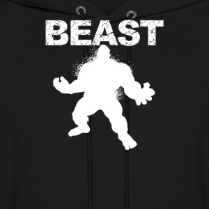 Beast Muscle Guy workout - Men's Hoodie