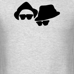 Blues Brothers Belushi Akroyd, - Men's T-Shirt