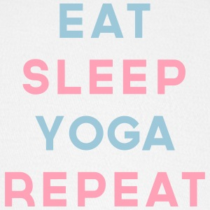 Eat Sleep Yoga Repeat Quote Sportswear - Baseball Cap