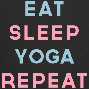 Eat Sleep Yoga Repeat Quote Sportswear - Trucker Cap