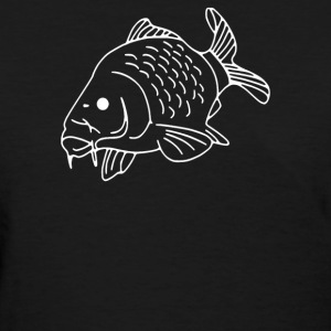 Carp Fish Fishing - Women's T-Shirt
