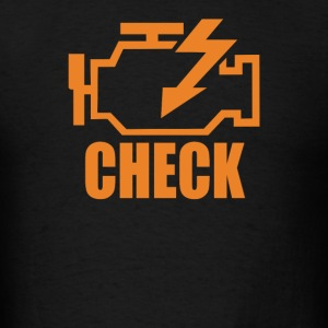 Check Engine - Men's T-Shirt