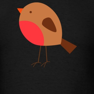 Christmas Robin - Men's T-Shirt