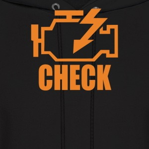 Check Engine - Men's Hoodie