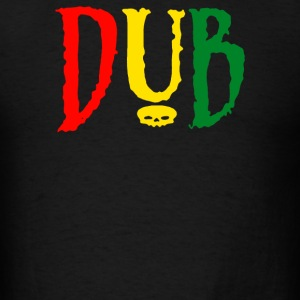 Dub Reggae Club Step Music Rasta Cool Retro - Men's T-Shirt
