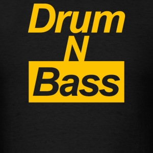 Drum N Bass Birthday Music - Men's T-Shirt