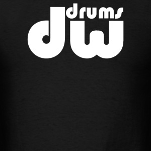 Drums Dw Music Instrument - Men's T-Shirt
