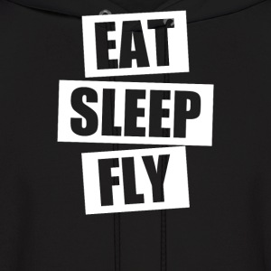 Eat Sleep Fly - Men's Hoodie