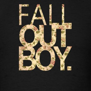 Fall Out Boy flower - Men's T-Shirt