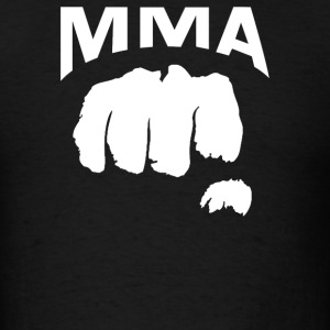 Fighting Mixed Martial Arts Fist - Men's T-Shirt