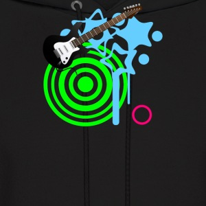 Guitar Retro Music - Men's Hoodie