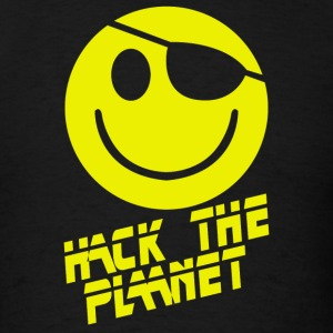 Hack the Planet Movie - Men's T-Shirt