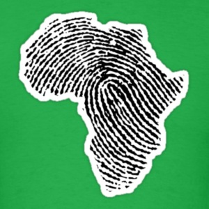 African Fingerprint T-Shirts - Men's T-Shirt