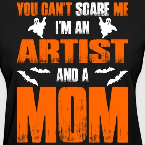 Cant Scare Me Im An Accountant And A Mom T-shirt T-Shirts - Women's T-Shirt