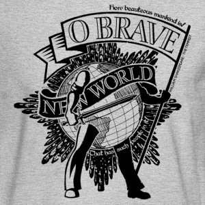 Brave New World - Men's Long Sleeve T-Shirt