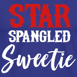 Star spangled sweetie T-Shirts - Men's Premium T-Shirt