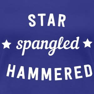 Star Spangled Hammered T-Shirts - Women's Premium T-Shirt