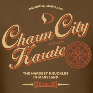 Charm City Karate Men's Knuckles tee - Men's T-Shirt