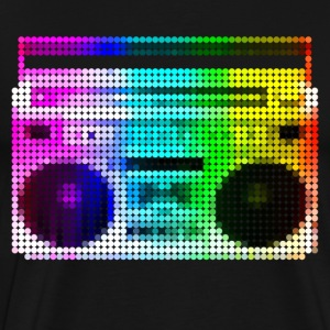Mosaic Big Thump Boombox - Men's Premium T-Shirt