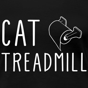 Cat Treadmill T-Shirts - Women's Premium T-Shirt