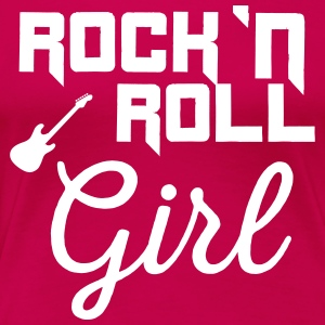 Rock n roll girl T-Shirts - Women's Premium T-Shirt