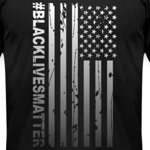 Black Lives Matter - Men's T-Shirt by American Apparel