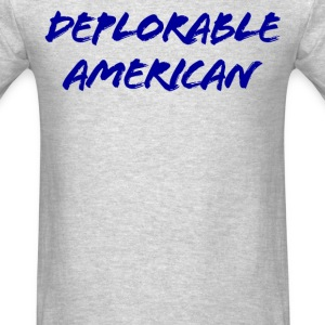 Deplorable American - Men's T-Shirt