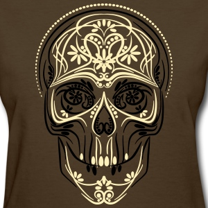 Dark brown scull - Women's T-Shirt