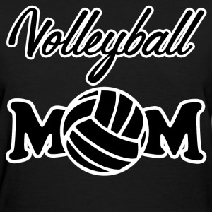 volleyball mom12.png T-Shirts - Women's T-Shirt