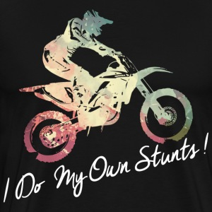 I Do My Own Stunts T-Shirts - Men's Premium T-Shirt