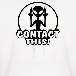 Alien Contact This finger UFO - Men's Hoodie