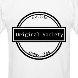 Original Society Ind Patch Logo - Men's T-Shirt