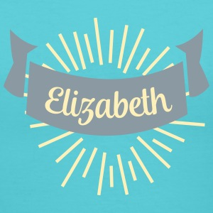 elizabeth T-Shirts - Women's V-Neck T-Shirt
