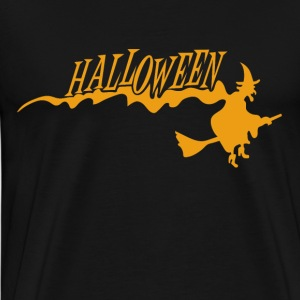 Halloween night - Witches and wizards - Men's Premium T-Shirt