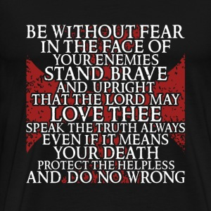 Kingdom of Heaven quote - Protect the helpless - Men's Premium T-Shirt