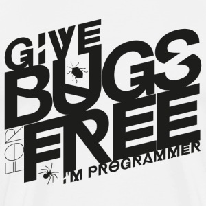 Give bugs for free - Men's Premium T-Shirt