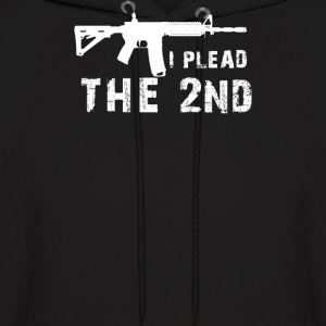I Plead The 2nd Amendment AR 15 Pro Gun - Men's Hoodie