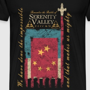 The battle of Serenity valley - Make us mighty - Men's Premium T-Shirt
