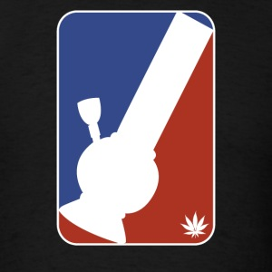 Major League Bong Marijuana Weed 420 Stoner Humor - Men's T-Shirt