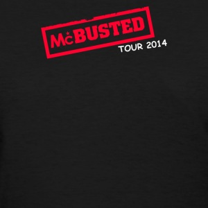 Mcbusted Tour 2014 Hooded Top Busted - Women's T-Shirt