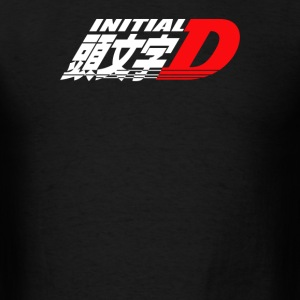 Logo Initial D Anime Manga Drift Race Jdm - Men's T-Shirt